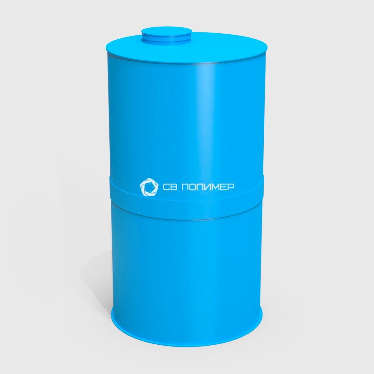 Емкость полипропиленовая синий цвет 1