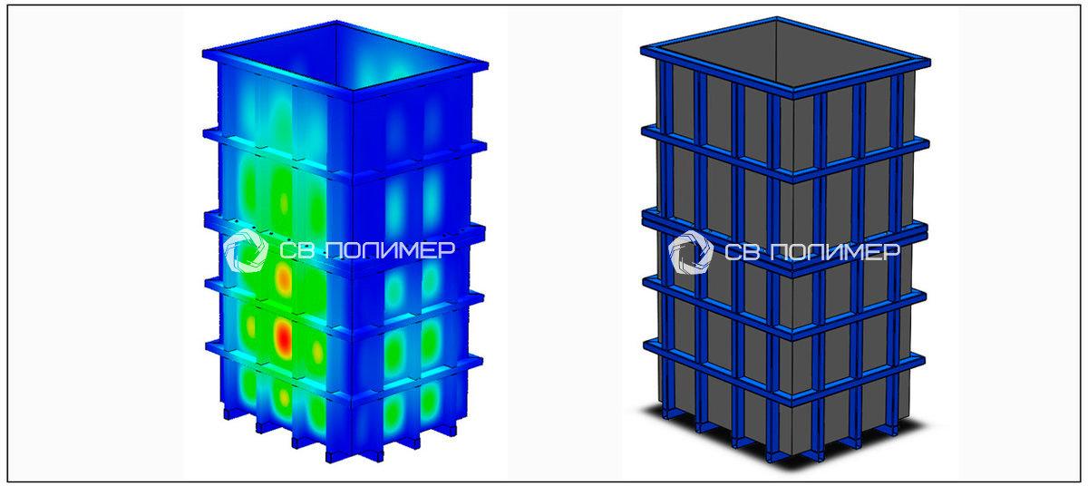 Емкость 5 м3 (материал PVC)