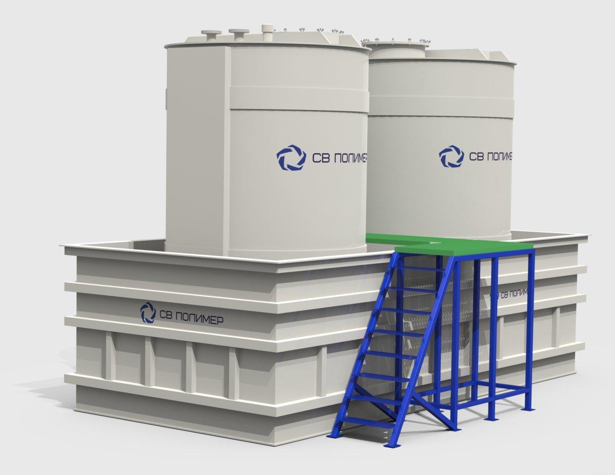 Емкости для кислот и щелочей
