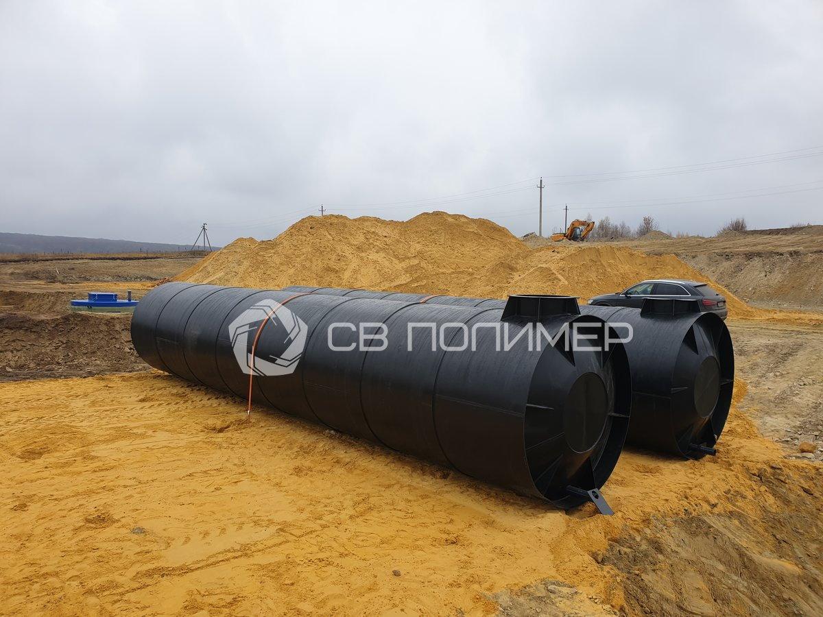 Резервуары чистой воды (РЧВ) монтаж