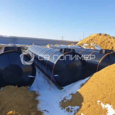 Резервуары чистой воды (РЧВ) 1