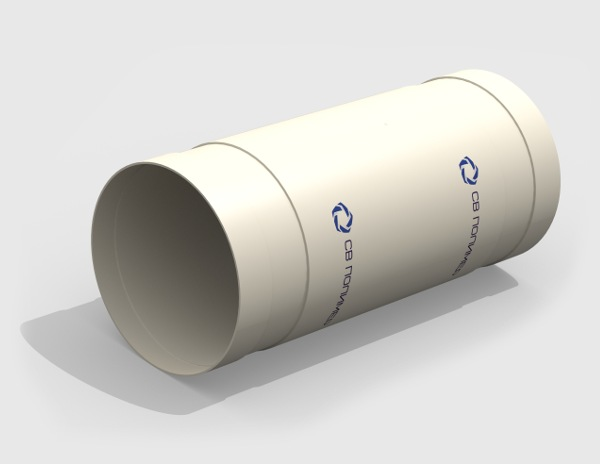 Раздвижной элемент вентиляционный<br><span>раструб</span>