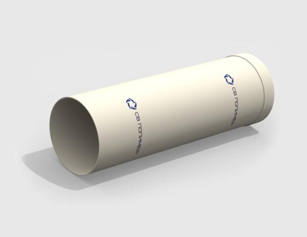Воздуховод вентиляционный круглый<br><span>раструб</span>