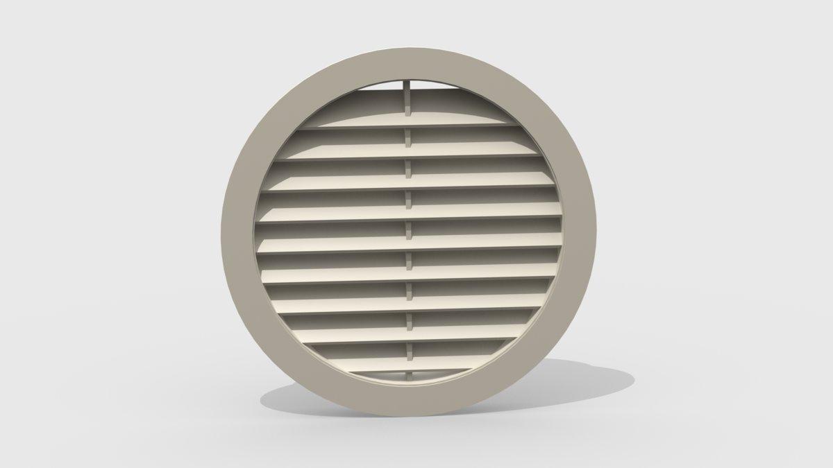 Решетка вентиляционная круглая 1290