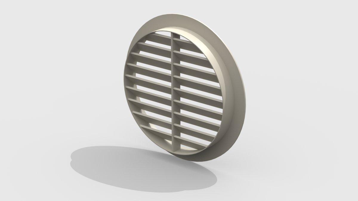 Решетка вентиляционная круглая 1291