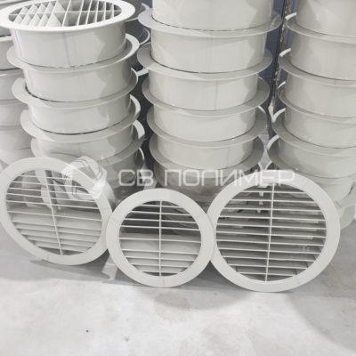 Решетки круглые вентиляционные