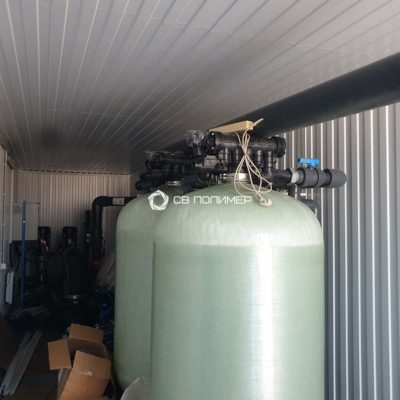 Павильон системы водоподготовки 3